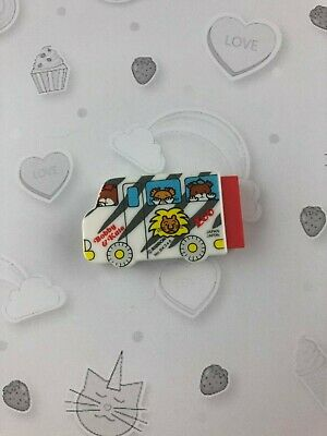 Gommes collection vintage eraser 80s Bobby & Kate bus