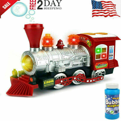 Toys For Kids Toddler Steam Train 3 4 5 6 7 Year Old Age Boys Girls Cool Toy New