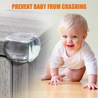 Desk Edge Soft Protectors Table Corner Cushion Baby Child Safety Guard Clear