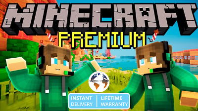 Minecraft Premium Account (Java)  Instant Delivery, Lifetime Warranty
