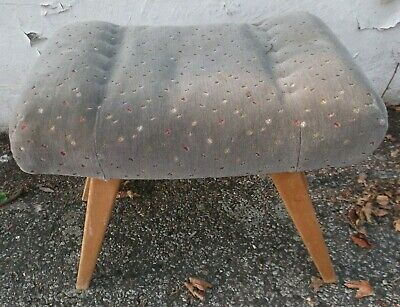 50er 60er Years Stool Piano Stool mid Century 50s 60s Vintage