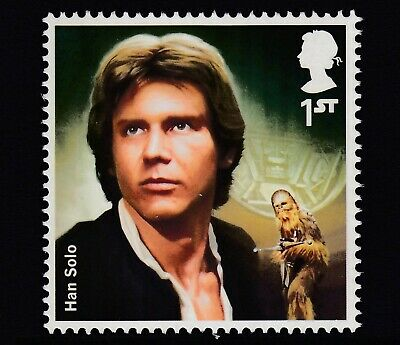 Star Wars - Han  Solo  On  2015  Gb  Unmounted Mint Stamp