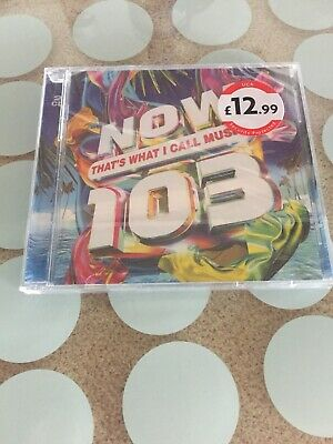 Now That's What I Call Music 103 2 Cd (Now 103) - Various Free Postage