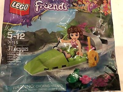 Lego Friends Jungle Boat 30115 Polybag BNIP
