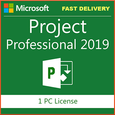 MS Project Professional 2019 Pro Key for 1 PC  32/64BIT👌Instant delivery
