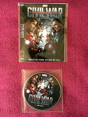 Captain America Civil War DVD