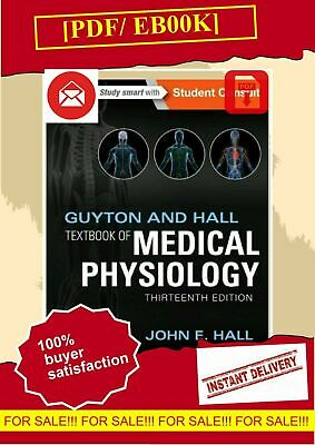 Guyton and Hall Textbook of Medical Physiology, 13 Edition by John E. Hall EßOOK