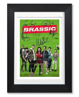 Brassic Cast Signed Poster Sky Tv Show Series Season Photo Autograph Gift