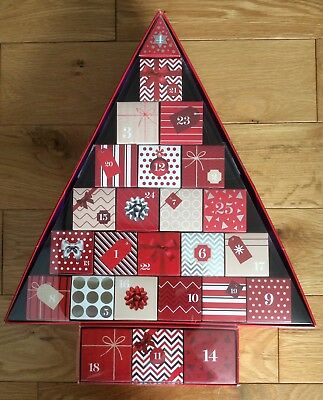 Empty M&S Ultimate Beauty Advent Calendar -Boxes Only/No Contents-Fill Yourself