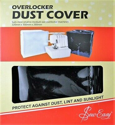 Sew Easy Black PVC Overlocker Dust Cover