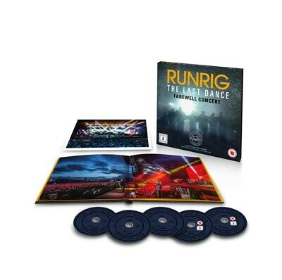 Runrig - The Last Dance-Farewell Concert  4 Cd+Dvd Neuf