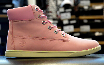 CHAUSSURES BOOTS TIMBERLAND fille 6IN Premium Wp taille Rose