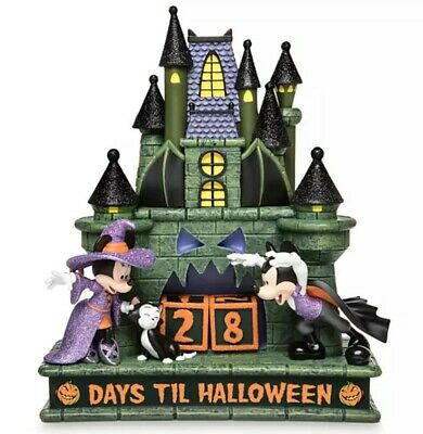 Disney Parks NEW 2019 Halloween Countdown Calendar Mickey and Minnie Mouse