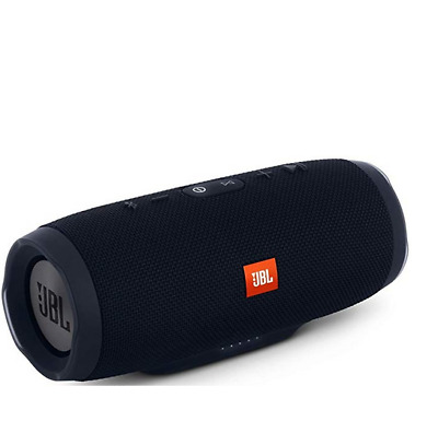 JBL Charge 3 Portable Waterproof Bluetooth Speaker (JBLCHARGE3BLKAM) - Black