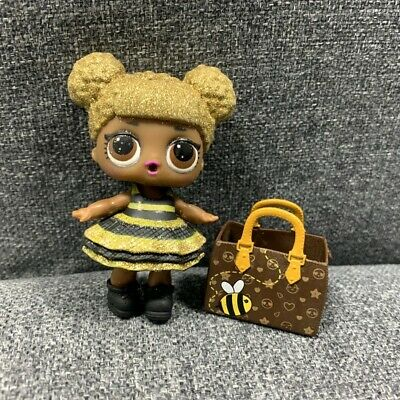 LOL Surprise Doll Glitter Queen Bee Series 1 & BAG L.O.L TOY GIFT