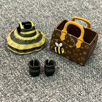 Original outfit Dress & SHOES & BAG For Lol Surprise L.O.L. QUEEN BEE TOY GIFT