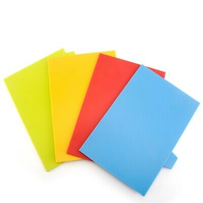 5PCS Coloured Chopping Board Set | Non-slip Index Cutting Boards With Stand 30CM