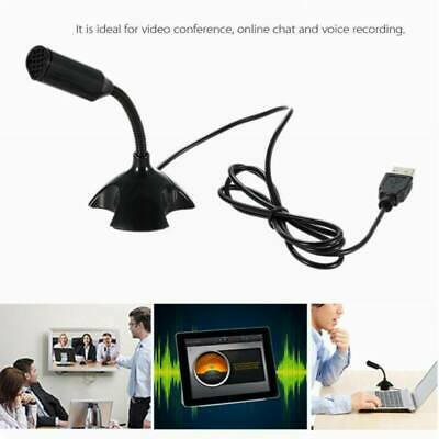 USB Condenser Studio Sound Recording Microphone Studio Recording w Shock Mount