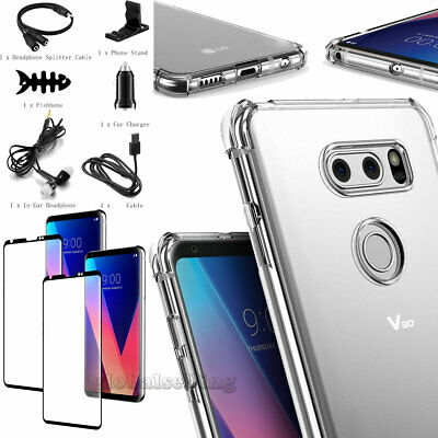 FOR LG V40 ThinQ / LG V40 Leather Flip Wallet Case Magnetic