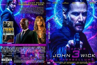 John Wick: Chapter 3 - Parabellum | HD DVD | DVD Disc Free Shiping Worldwide DVD