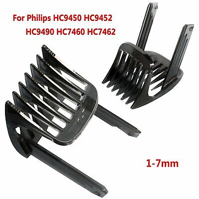 Para Philips HC9450 9452 9490 HC7460 7462 Trimmer Hair Clipper Guide Comb 1-7mm