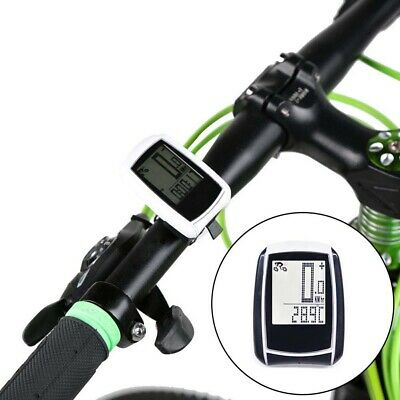 New Wire/Wireless Outdoor Cycling Bike Computer Bicycle Led Speedometer Odometer