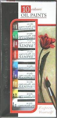 Oil colour Art Paint 10 Tubes Set - 12ml
