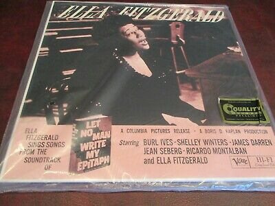 Ella Fitzgerald Audiophile 45 Rpm Verve Series Sing Songs Limited Numbered 109
