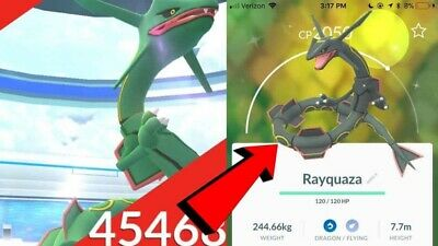 🔥Pokémon Go🔥Catch service🔥Capture de Rayquaza🔥Possible shiny🔥Go description