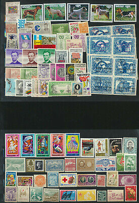 MINT NH Worldwide Global Old Vintage Estate Stamp Collection 102 Different Lot35