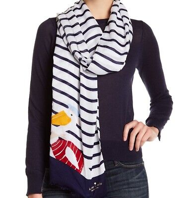 Kate Spade New York Scarf Percy Stripe NEW