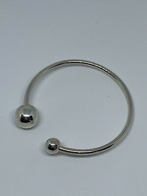 Silpada Sterling Silver 925 Have a Ball Cuff Bracelet B2895 Signed Retired