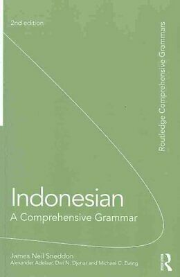 Indonesian: A Comprehensive Grammar 9780415581547 | Brand New | Free UK Shipping