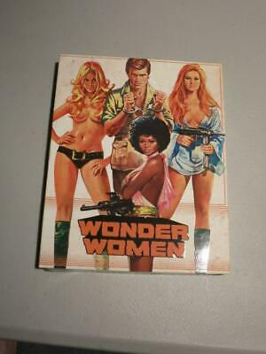 NEW! RARE! OOP! Wonder Women Blu-ray/DVD Combo with Slipcover Vinegar Syndrome