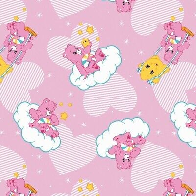 Care Bears Tender Heart Camelot Knit 96/% cotton 4/% Spandex fabric by the yard
