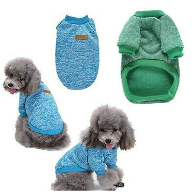 Pet Dog Coat Warm Sweater Winter Apparel Cat Puppy Cotton Hoodie Jacket Clothes