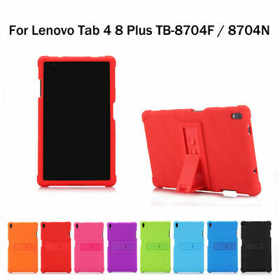Shockproof Case For Lenovo Tab 4 8 Plus TB-8704F/N Soft Silicone Tablet Cover