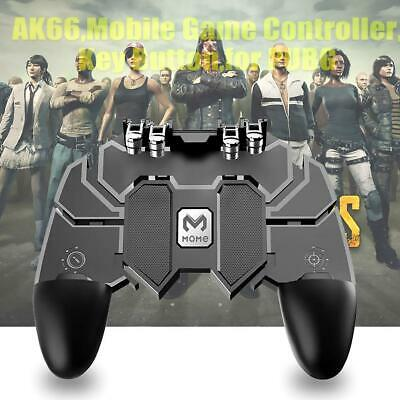 AK66 Six Fingers Game Controller Trigger Shooting Gamepad for PUBG Mobile Phone