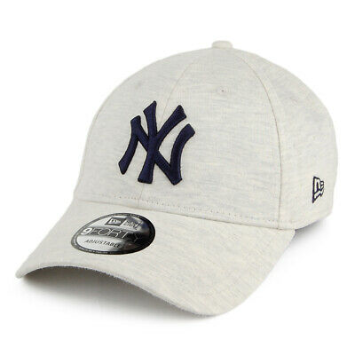 New Era 9FORTY NY Yankees Baseball Cap MLB Jersey Essential Off White