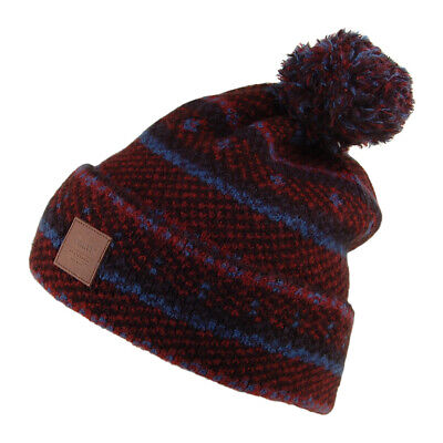 Barts Hats Alcea Oversized Bobble Hat - Red-White