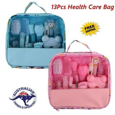 Baby grooming kit set 13 pcs. newborn nail hair health care body for infant AU
