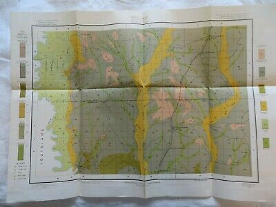 1903 Antique Map Mississippi McNeill Lacey Ceasar Walkia 21 X 15 #9939