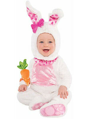 Baby Infant Wittle Wabbit Easter Bunny Rabbit Animal Fancy Dress Party Costume