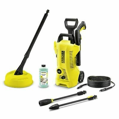 Karcher K2 Full Control 1400W 110 Bar Home Pressure Washer With T150 Patio