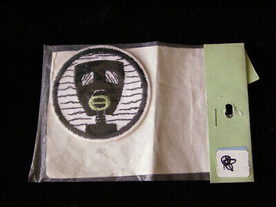 Ecology Gas Mask 1970s Patch Protest Patch