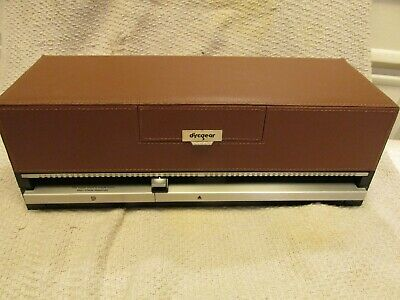 Discgear Selector 120 HD Brown Faux Leather CD DVD Game Storage Organizer UNUSED