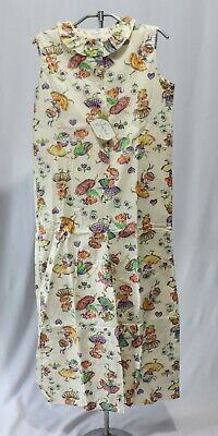 Vintage Pajamas Jumpsuit Jump Suit NWT sz 14 Novelty Fabric Dancing Girls