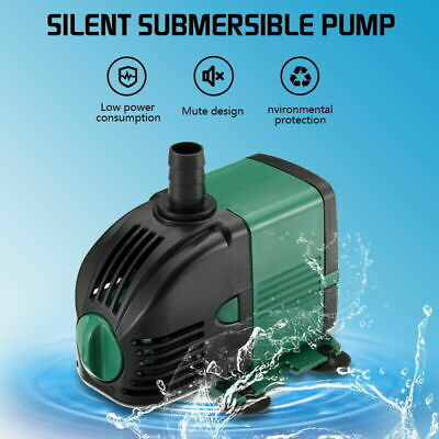 Water Pump Feature Fountain Outdoor Garden Fish Pond Completely Submersible
