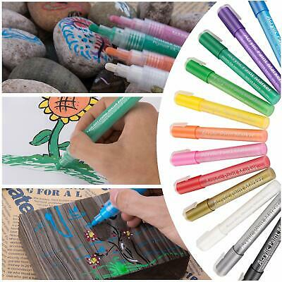Acrylic Paint Pens For Rock Painting Stone Glass Ceramic