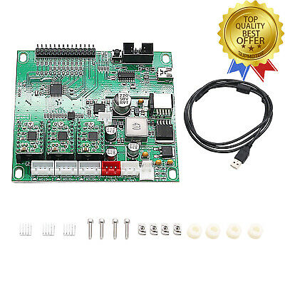 3Axis CNC Control Board Controller USB Port for GRBL CNC Laser Engraving 0.9J